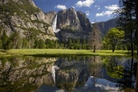 Yosemite Falls Reflection Fine-Art Print