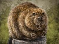 Beaver Totem Fine-Art Print