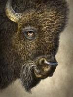 Bison Totem Fine-Art Print
