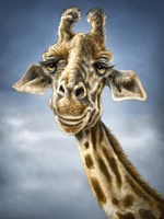 Giraffe Totem Fine-Art Print