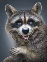 Raccoon Totem Fine-Art Print