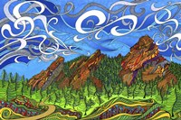 The Flatirons Fine-Art Print