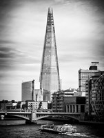 The Shard Building and The River Thames - London Fine-Art Print