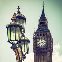 Big Ben and the Royal Lamppost UK Fine-Art Print