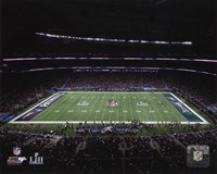 U.S. Bank Stadium Super Bowl LII Fine-Art Print