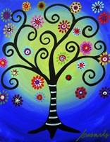 Fullmoon Tree Of Life Fine-Art Print