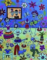Fiesta Calaveras Amor Fine-Art Print