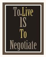 Negotiation 1 Fine-Art Print