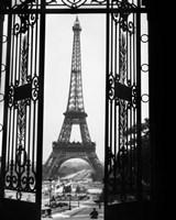 1920s Eiffel Tower Built 1889 Fine-Art Print