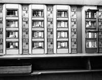1920s 1930s 1940s 1950s Automat Cafeteria Vending Machine? Fine-Art Print