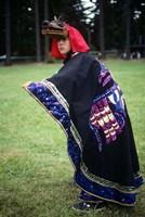 Makah Indian Female Dance Costume Fine-Art Print