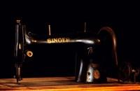 Antique Singer Sewing Machine Fine-Art Print