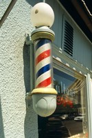 Barber Pole Spring Lake New Jersey Usa Fine-Art Print