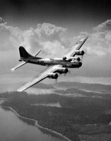 1940s Us Army Aircraft World War Ii B-17 Fine-Art Print