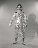 1960s Standing  Portrait Of Astronaut In Space? Fine-Art Print