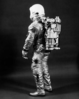 1960s Side View Of Astronaut Fine-Art Print