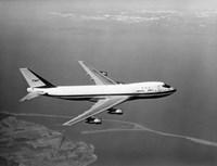 1960s Boeing 747 In Flight Fine-Art Print