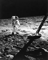 1960s Astronaut Buzz Aldrin In Space Fine-Art Print