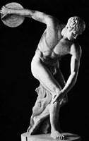 Classical Nude Figure Discus Thrower Fine-Art Print