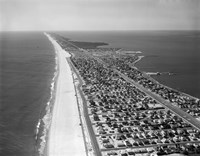 1970s 1980s Aerial Of Jersey Shore Fine-Art Print