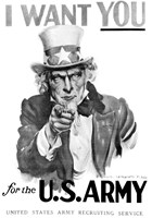 1910s World War One I Want You Uncle Sam Fine-Art Print