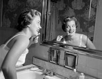 1950s Smiling Woman Fine-Art Print