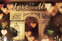 Love is in the Arc de Triomphe v2 Fine-Art Print