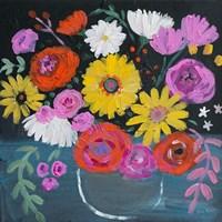 Midnight Floral Fine-Art Print