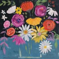Folk Floral II Fine-Art Print