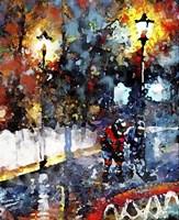Abstract Hockey Kids1 Fine-Art Print