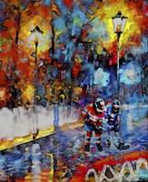 Abstract Hockey Kids2 Fine-Art Print