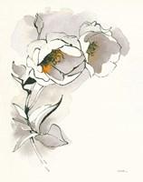 Carols Roses II Taupe Fine-Art Print