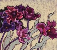 Ruffled Tulips Beige Fine-Art Print