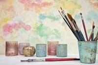Paint Brushes Still Life Fine-Art Print