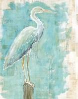 Coastal Egret I Fine-Art Print