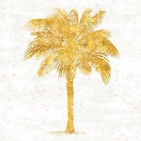 Palm Coast II On White Fine-Art Print