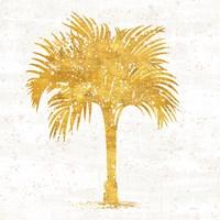 Palm Coast IV on White Fine-Art Print