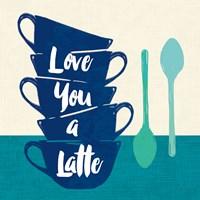 Linen Coffee III Light Fine-Art Print