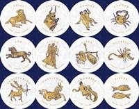 Gilded Zodiac Signs Fine-Art Print