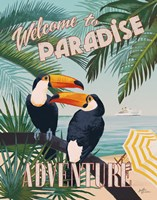 Welcome to Paradise II Fine-Art Print