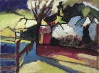 Herbstlandschaft mit Baum (1910) Fine-Art Print