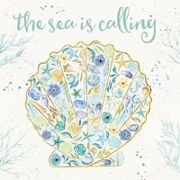 Seaside Blossoms I Fine-Art Print
