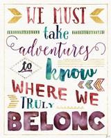 Lost in Words II Fine-Art Print
