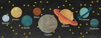 Planet Chart Fine-Art Print