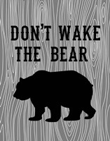 Don't Wake the Bear Fine-Art Print