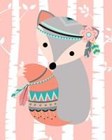 Tribal Fox Girl I Framed Print