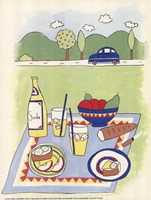 Country Picnic Fine-Art Print