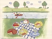 Lakeside Picnic Fine-Art Print