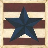 Blue Star, Red Stripes Fine-Art Print