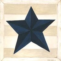 Blue Star, White Stripes Fine-Art Print